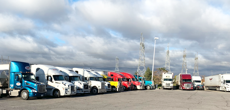 How much truck operator can earn, is it worth being a trucker?, life of truck driver, trucks at the truck stop, truck stop