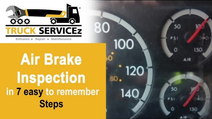 7 Step Air Brake Test