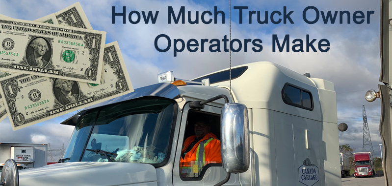 How Much a truck Owners Make