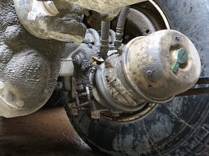 air brake chamber