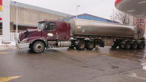 Tanker hauler income