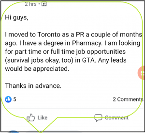 Looking for a job in Canada, Recession in values in trucking