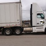 Day cab truck on the road, good truck for local owner operator, semi truck on the road, tractor trailer on the road
