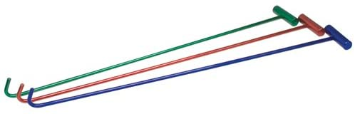 RoadPro RP5PIN Brushed Aluminum Assorted Color 5th Wheel Pin Puller
