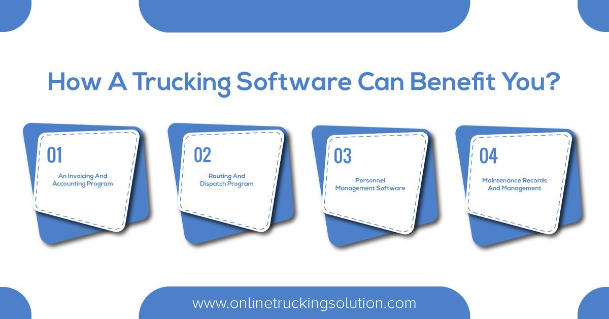 Trucking management software, fleet management