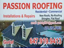 Passion Roofing Gurlal Singh