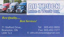 All Truck Lube and Wash Ltd