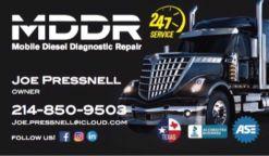 MDDR - Mobile Diesel Diagnostic Repair